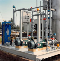 Image of a skid mounted complete system