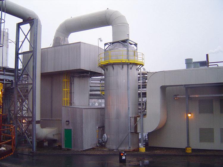 Wahlco/Great Hydro America : Series 9500 Spray Tower | 79,000 CFM | Power Boiler | Sulfur Dioxide / Fly Ash : Berlin, NH