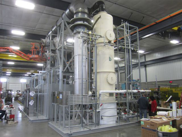 Catalytic Combustion : Hi-TScrub™ Quench / Series 5000 Packed Scrubber | 2,000 CFM | Thermal Oxidizer / Acid Gases : North Haven, CT